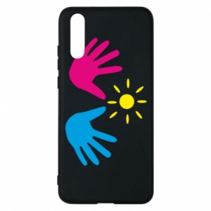 Phone case for Huawei P20 Palms of hands