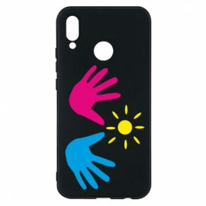 Phone case for Huawei P20 Lite Palms of hands