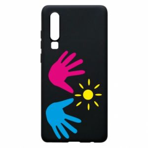 Phone case for Huawei P30 Palms of hands
