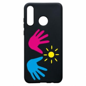 Phone case for Huawei P30 Lite Palms of hands