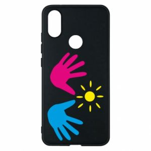 Phone case for Xiaomi Mi A2 Palms of hands