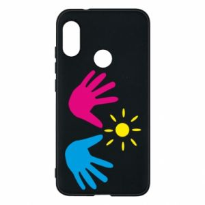 Phone case for Mi A2 Lite Palms of hands