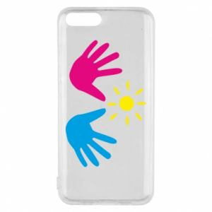 Phone case for Xiaomi Mi6 Palms of hands
