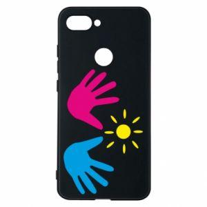 Phone case for Xiaomi Mi8 Lite Palms of hands