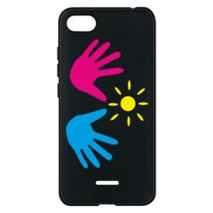 Phone case for Xiaomi Redmi 6A Palms of hands