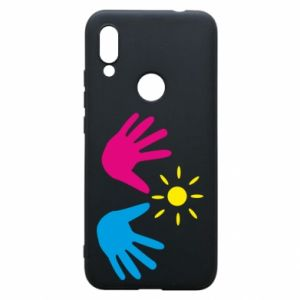 Phone case for Xiaomi Redmi 7 Palms of hands