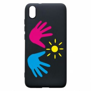 Phone case for Xiaomi Redmi 7A Palms of hands
