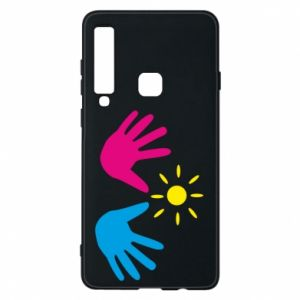 Phone case for Samsung A9 2018 Palms of hands