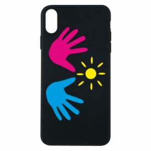 Phone case for iPhone Xs Max Palms of hands