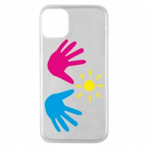 Phone case for iPhone 11 Pro Palms of hands