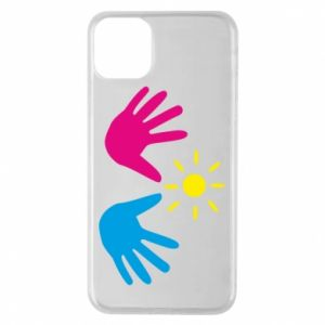 Phone case for iPhone 11 Pro Max Palms of hands