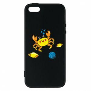 Etui na iPhone 5/5S/SE Dno morskie