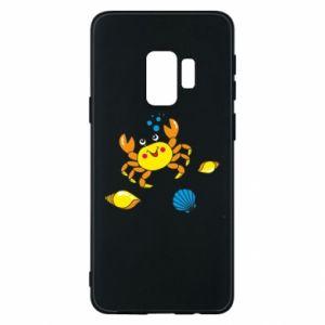 Etui na Samsung S9 Dno morskie