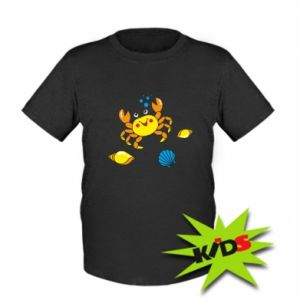 Kids T-shirt Sea bottom