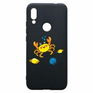 Etui na Xiaomi Redmi 7 Dno morskie