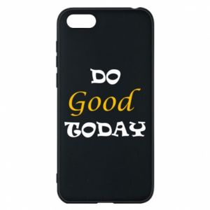 Etui na Huawei Y5 2018 Do good today