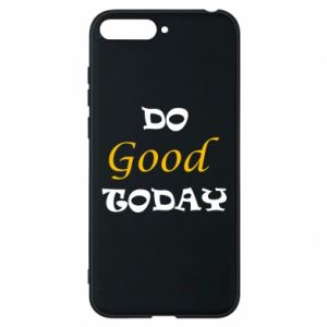 Etui na Huawei Y6 2018 Do good today