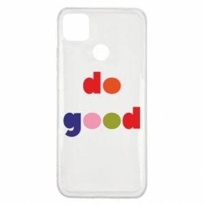 Etui na Xiaomi Redmi 9c Do good
