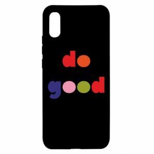 Etui na Xiaomi Redmi 9a Do good