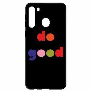 Etui na Samsung A21 Do good