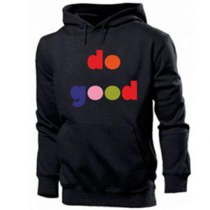 Bluza z kapturem męska Do good