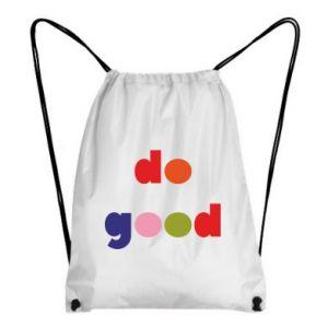 Plecak-worek Do good