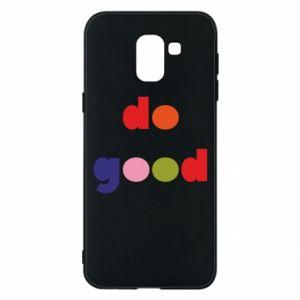 Etui na Samsung J6 Do good