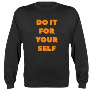 Bluza (raglan) Do it for yourself