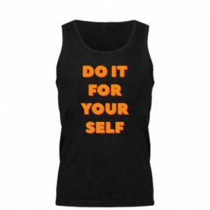 Męska koszulka Do it for yourself