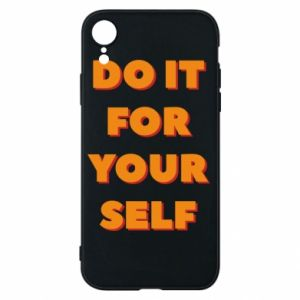 Etui na iPhone XR Do it for yourself