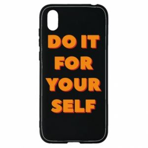Huawei Y5 2019 Case Do it for yourself