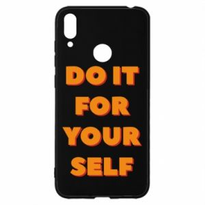 Huawei Y7 2019 Case Do it for yourself
