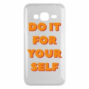 Etui na Samsung J3 2016 Do it for yourself