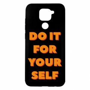 Xiaomi Redmi Note 9 / Redmi 10X case % print% Do it for yourself