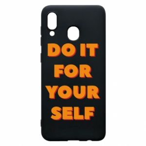 Etui na Samsung A20 Do it for yourself