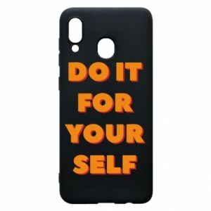 Etui na Samsung A30 Do it for yourself
