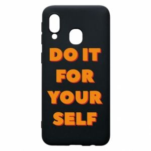 Etui na Samsung A40 Do it for yourself