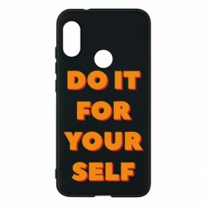 Etui na Mi A2 Lite Do it for yourself