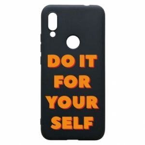 Etui na Xiaomi Redmi 7 Do it for yourself