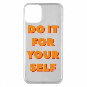 Etui na iPhone 11 Do it for yourself