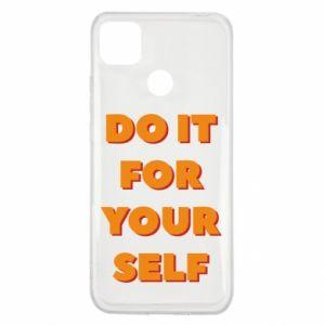 Xiaomi Redmi 9c Case Do it for yourself