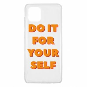 Samsung Note 10 Lite Case Do it for yourself