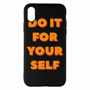 Etui na iPhone X/Xs Do it for yourself