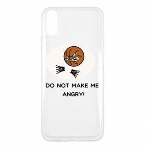 Xiaomi Redmi 9a Case Do not make me angry!