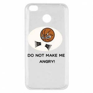 Xiaomi Redmi 4X Case Do not make me angry!