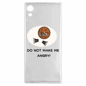 Sony Xperia XA1 Case Do not make me angry!