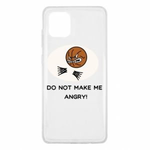Samsung Note 10 Lite Case Do not make me angry!