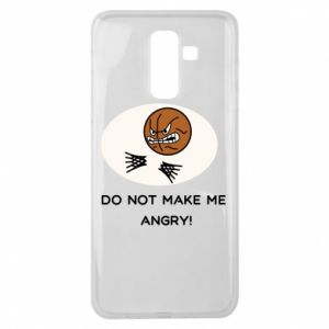 Samsung J8 2018 Case Do not make me angry!