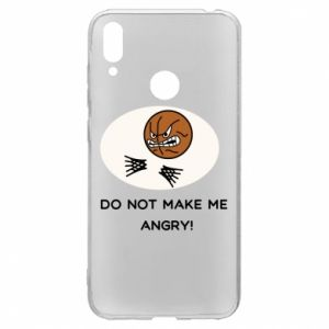 Huawei Y7 2019 Case Do not make me angry!