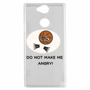 Sony Xperia XA2 Case Do not make me angry!